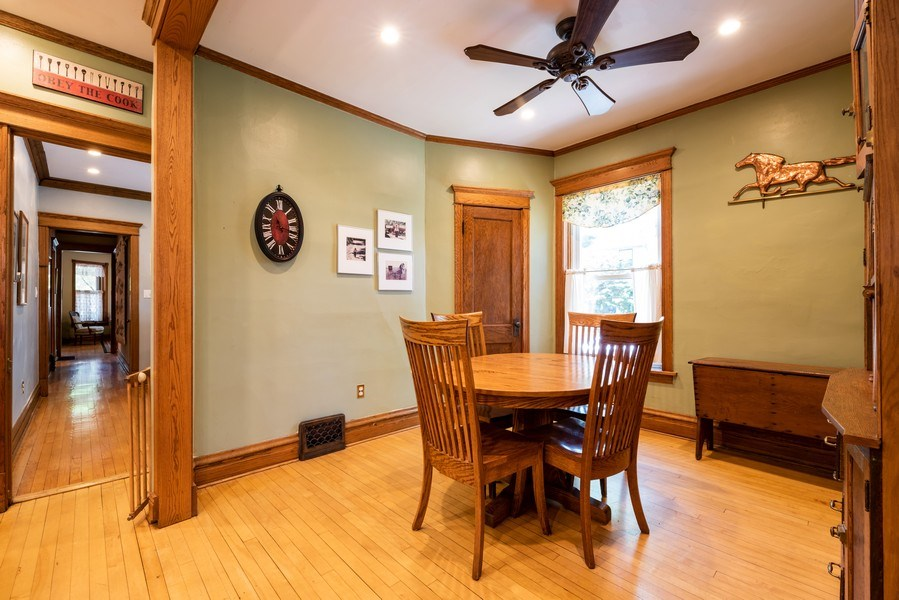 Real Estate Photography - 1456 W. Thome Avenue, Chicago, IL, 60660 - Dining Room