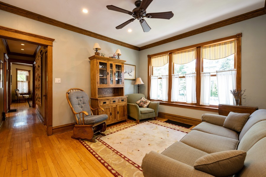 Real Estate Photography - 1456 W. Thome Avenue, Chicago, IL, 60660 - Family Room