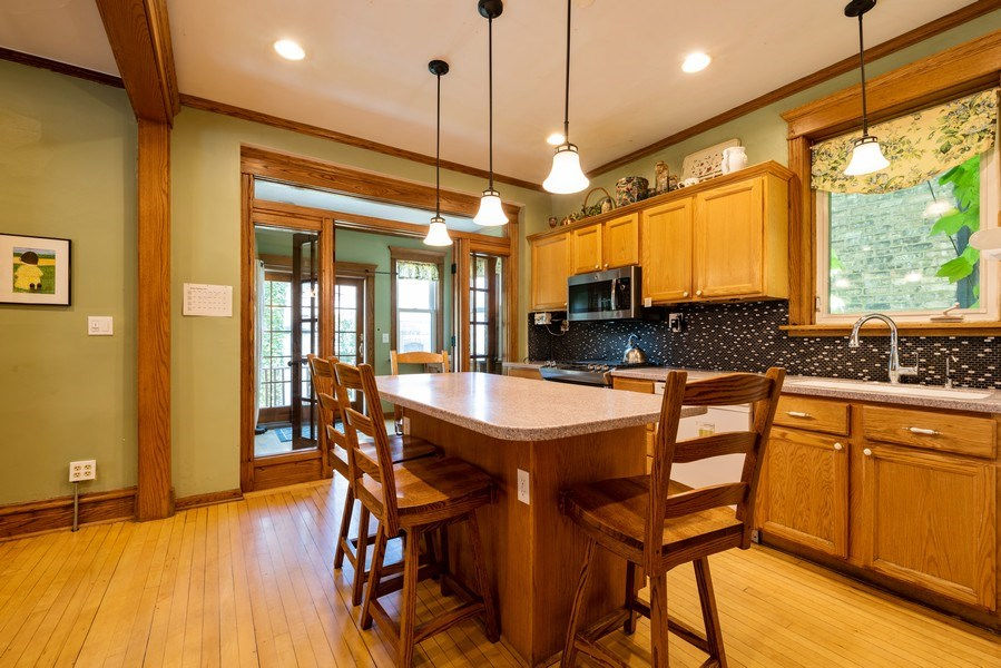 Real Estate Photography - 1456 W. Thome Avenue, Chicago, IL, 60660 - Kitchen