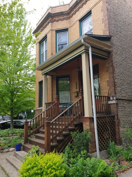 Real Estate Photography - 1456 W. Thome Avenue, Chicago, IL, 60660 - Exterior Front