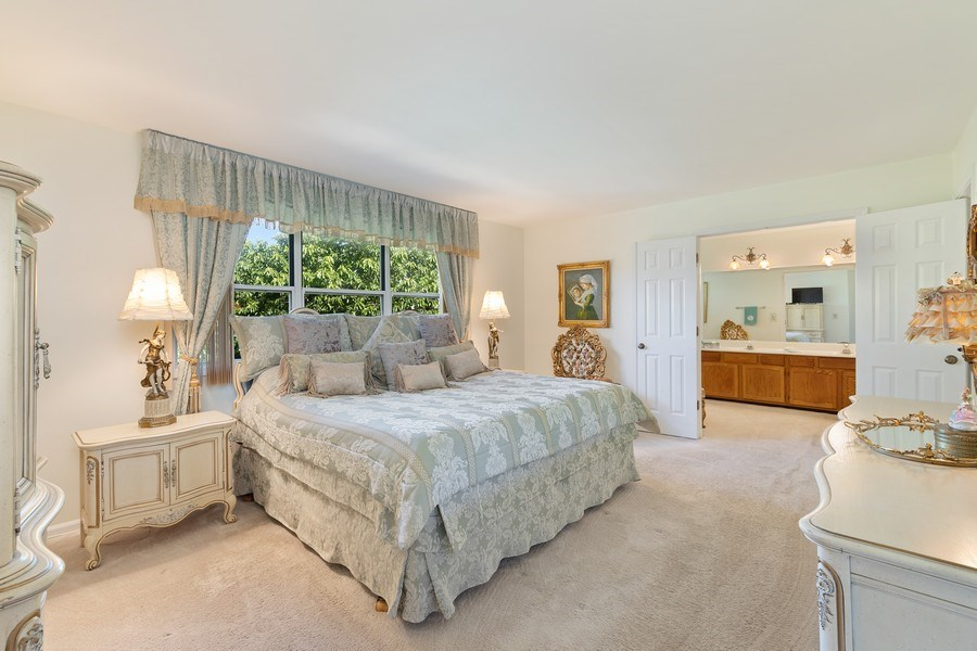 Real Estate Photography - 1163 Donegal Lane, Barrington, IL, 60010 - Master Bedroom