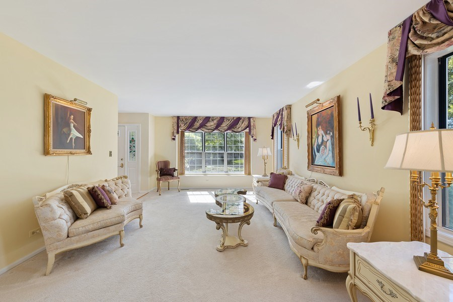 Real Estate Photography - 1163 Donegal Lane, Barrington, IL, 60010 - Living Room