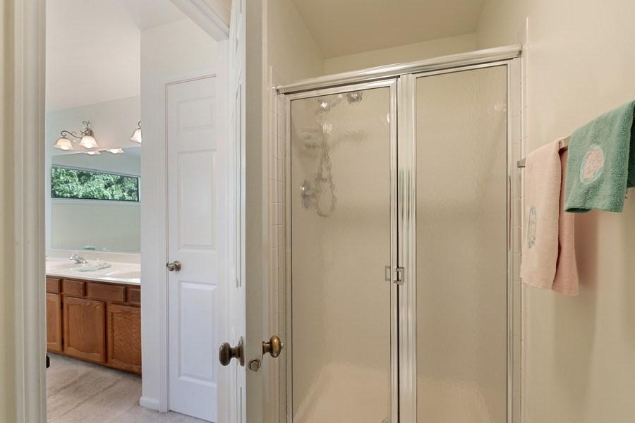 Real Estate Photography - 1163 Donegal Lane, Barrington, IL, 60010 - Master Bathroom