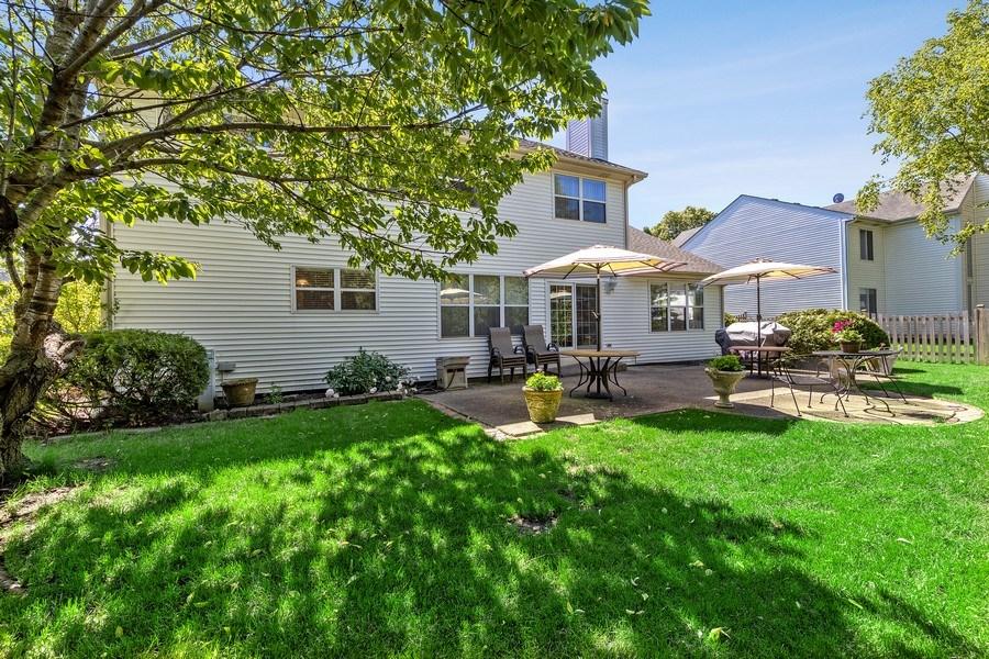 Real Estate Photography - 1163 Donegal Lane, Barrington, IL, 60010 - Back Yard