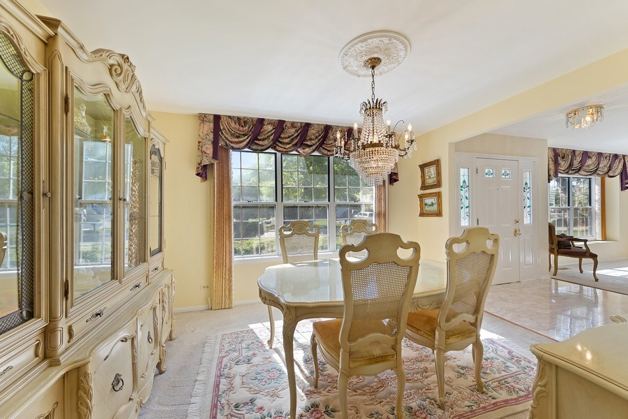 Real Estate Photography - 1163 Donegal Lane, Barrington, IL, 60010 - Dining Room
