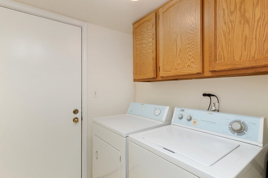 Real Estate Photography - 1163 Donegal Lane, Barrington, IL, 60010 - Laundry Room