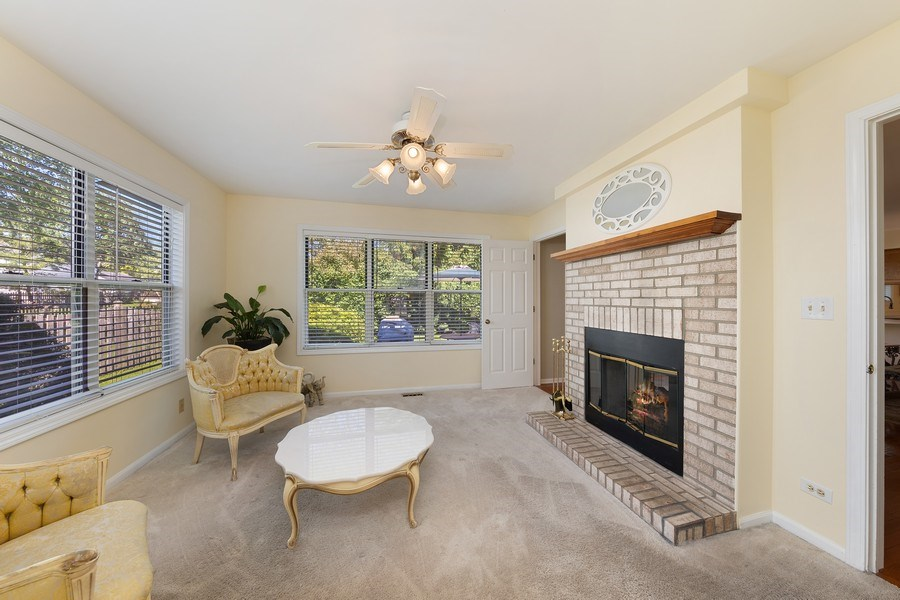 Real Estate Photography - 1163 Donegal Lane, Barrington, IL, 60010 - Den