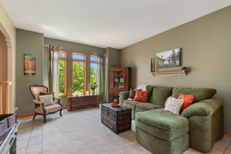 Real Estate Photography - 40698 N. Gridley Drive, Antioch, IL, 60002 - Living Room