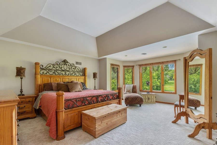 Real Estate Photography - 40698 N. Gridley Drive, Antioch, IL, 60002 - Master Bedroom