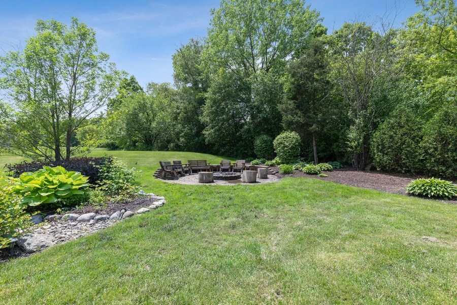 Real Estate Photography - 40698 N. Gridley Drive, Antioch, IL, 60002 - Back Yard