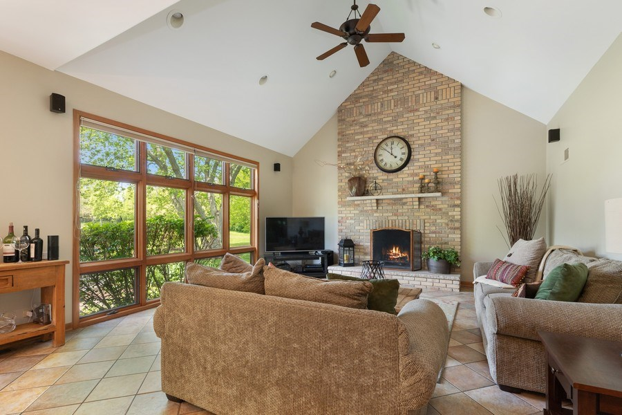 Real Estate Photography - 40698 N. Gridley Drive, Antioch, IL, 60002 - Family Room