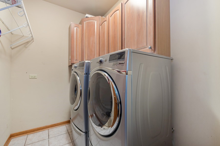 Real Estate Photography - 40698 N. Gridley Drive, Antioch, IL, 60002 - Laundry Room