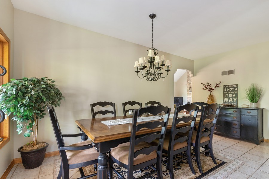 Real Estate Photography - 40698 N. Gridley Drive, Antioch, IL, 60002 - Dining Room