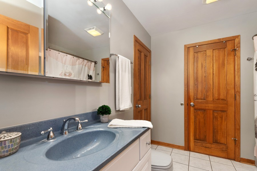 Real Estate Photography - 40698 N. Gridley Drive, Antioch, IL, 60002 - 2nd Bathroom