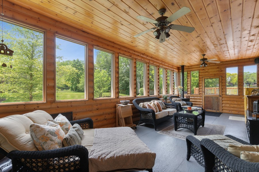 Real Estate Photography - 40698 N. Gridley Drive, Antioch, IL, 60002 - Sun Room