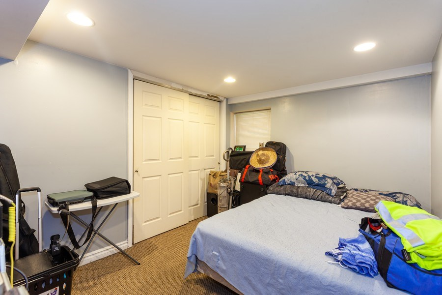 Real Estate Photography - 5040 West Cullom Ave, Chicago, IL, 60641 - Lower Level - Bonus Room