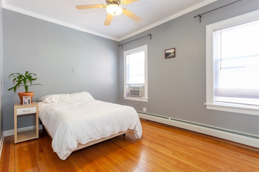 Real Estate Photography - 5040 West Cullom Ave, Chicago, IL, 60641 - Unit 2 - 2nd Bedroom