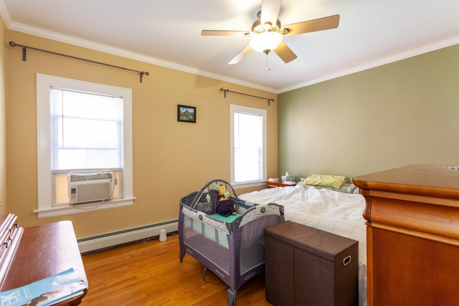 Real Estate Photography - 5040 West Cullom Ave, Chicago, IL, 60641 - Unit 2 - Master Bedroom