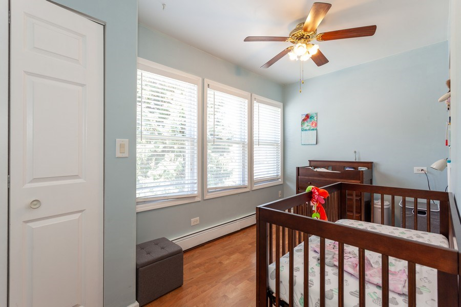 Real Estate Photography - 5040 West Cullom Ave, Chicago, IL, 60641 - Unit 2 - Bonus Room - 3rd Bedroom/Office