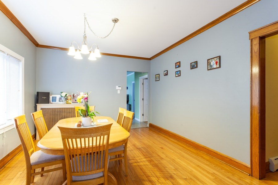 Real Estate Photography - 5040 West Cullom Ave, Chicago, IL, 60641 - Unit 2 - Dining Room