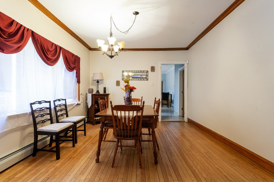 Real Estate Photography - 5040 West Cullom Ave, Chicago, IL, 60641 - Unit 1 - Dining Room