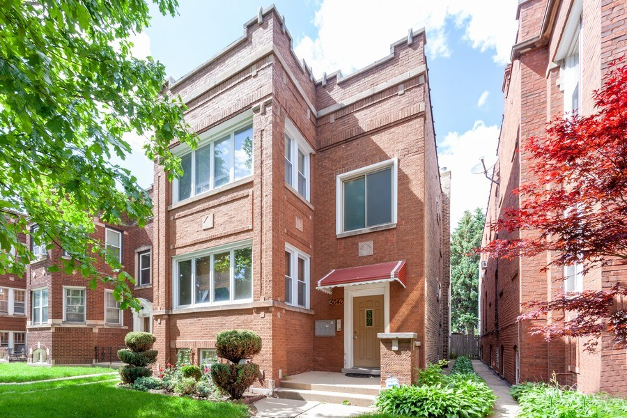 Real Estate Photography - 5040 West Cullom Ave, Chicago, IL, 60641 - Front View