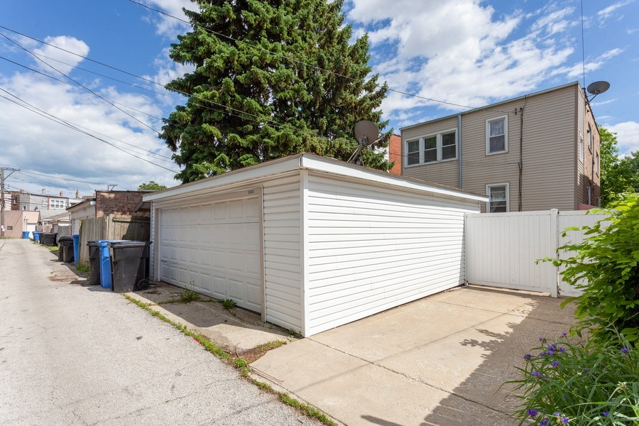 Real Estate Photography - 5040 West Cullom Ave, Chicago, IL, 60641 - 2 Car Garage plus parking pad