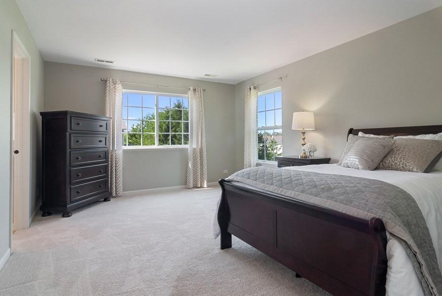 Real Estate Photography - 442 Jamestown Court, Aurora, IL, 60502 - Master Bedroom