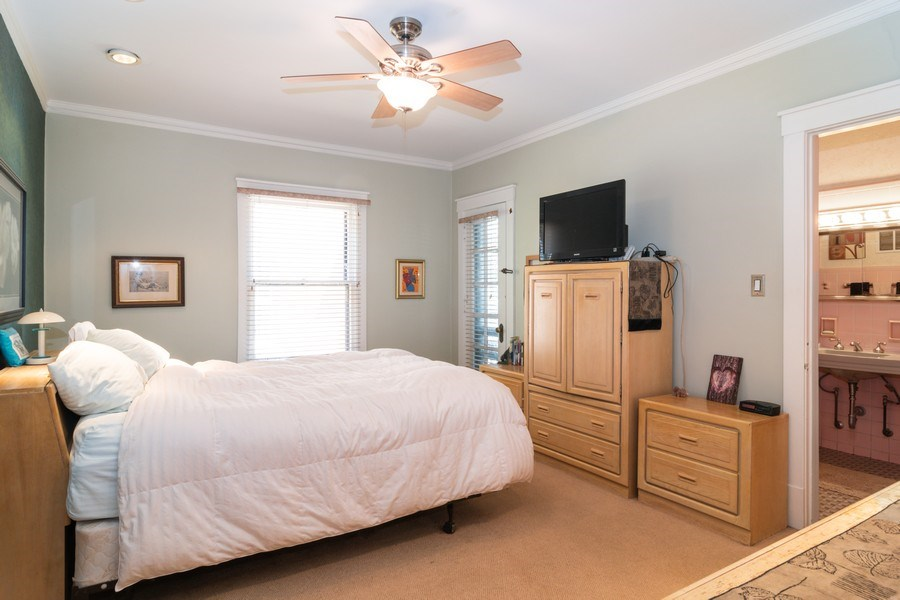 Real Estate Photography - 202 North Ridgeland Ave, Oak Park, IL, 60302 - MASTER BEDROOM - First Floor