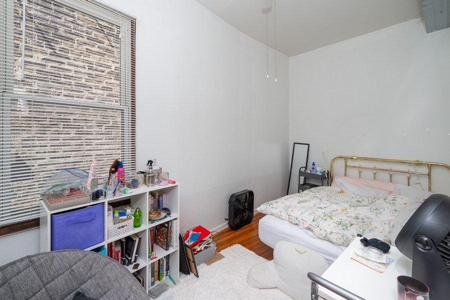 Real Estate Photography - 3556 North Wilton Ave, Chicago, IL, 60657 - 3rd Bedroom