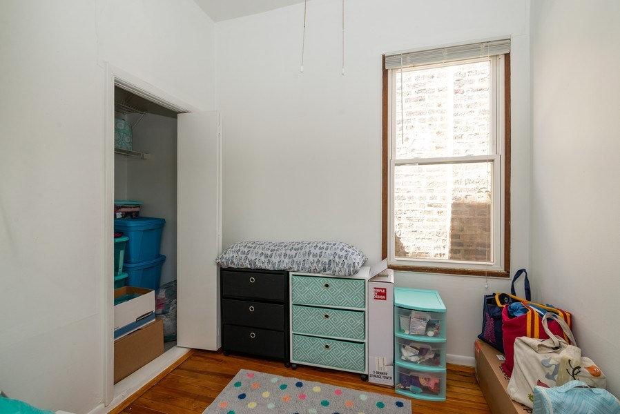 Real Estate Photography - 3556 North Wilton Ave, Chicago, IL, 60657 - 4th Bedroom