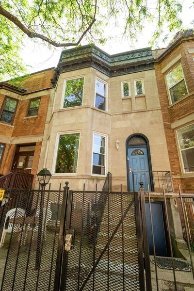 Real Estate Photography - 3556 North Wilton Ave, Chicago, IL, 60657 - Front View