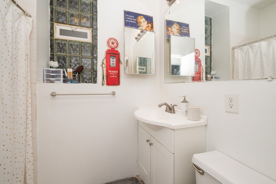Real Estate Photography - 3556 North Wilton Ave, Chicago, IL, 60657 - Bathroom