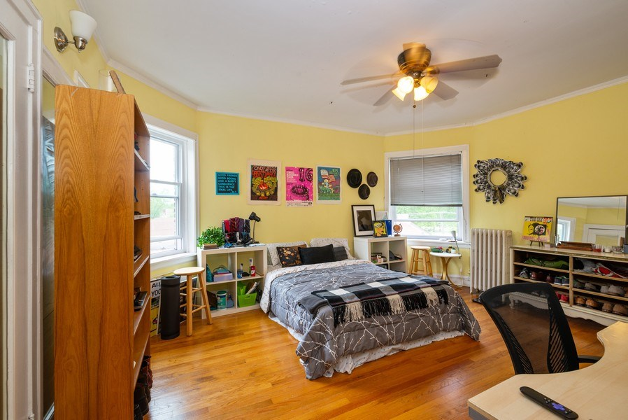 Real Estate Photography - 7355 N. Winchester Avenue, Chicago, IL, 60626 - 3rd Floor Bedroom