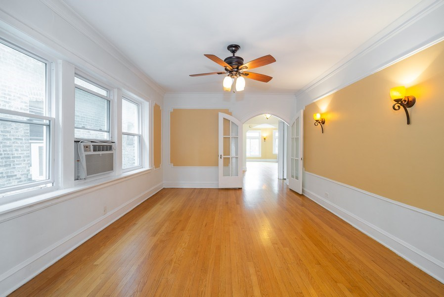 Real Estate Photography - 7355 N. Winchester Avenue, Chicago, IL, 60626 - 2nd Floor Dining Room