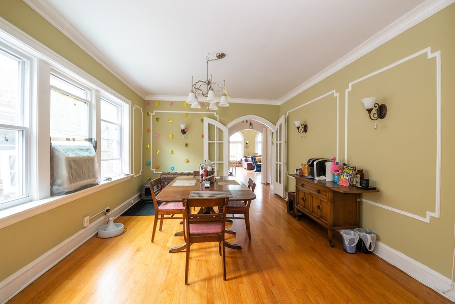Real Estate Photography - 7355 N. Winchester Avenue, Chicago, IL, 60626 - 3rd Floor Dining Room