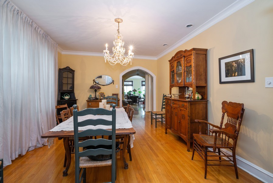 Real Estate Photography - 7355 N. Winchester Avenue, Chicago, IL, 60626 - 1st Floor Dining Room