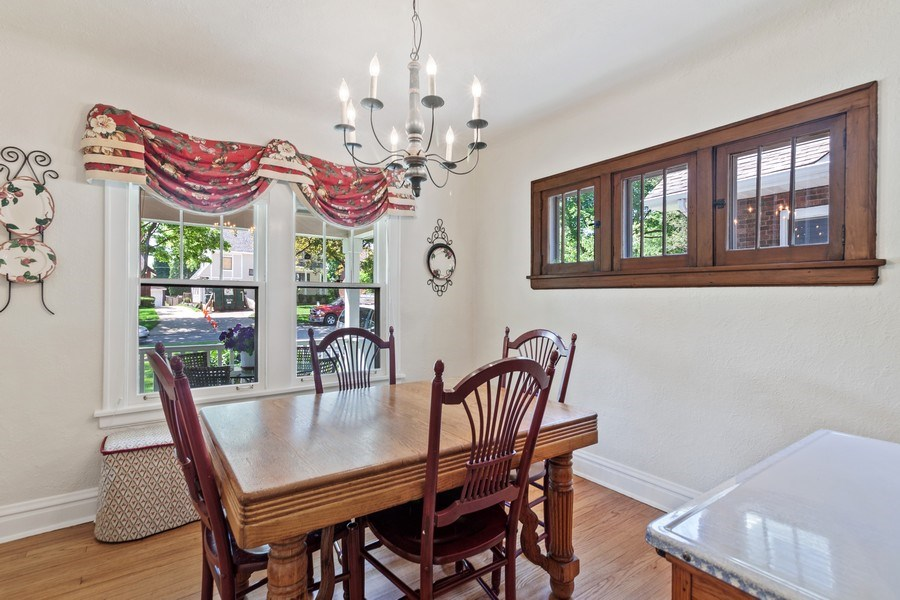 Real Estate Photography - 831 N. Summit Street, Wheaton, IL, 60187 - Dining Area