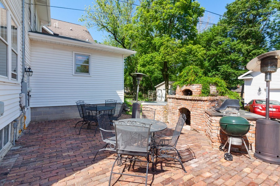 Real Estate Photography - 831 N. Summit Street, Wheaton, IL, 60187 - Patio