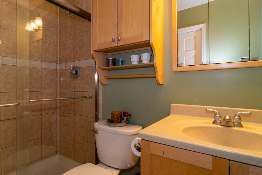 Real Estate Photography - 5851 CHATSWORTH Court, Hanover Park, IL, 60133 - Master Bathroom