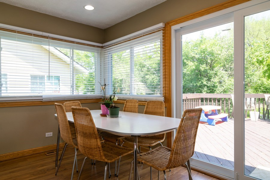 Real Estate Photography - 5851 CHATSWORTH Court, Hanover Park, IL, 60133 - Dining Room