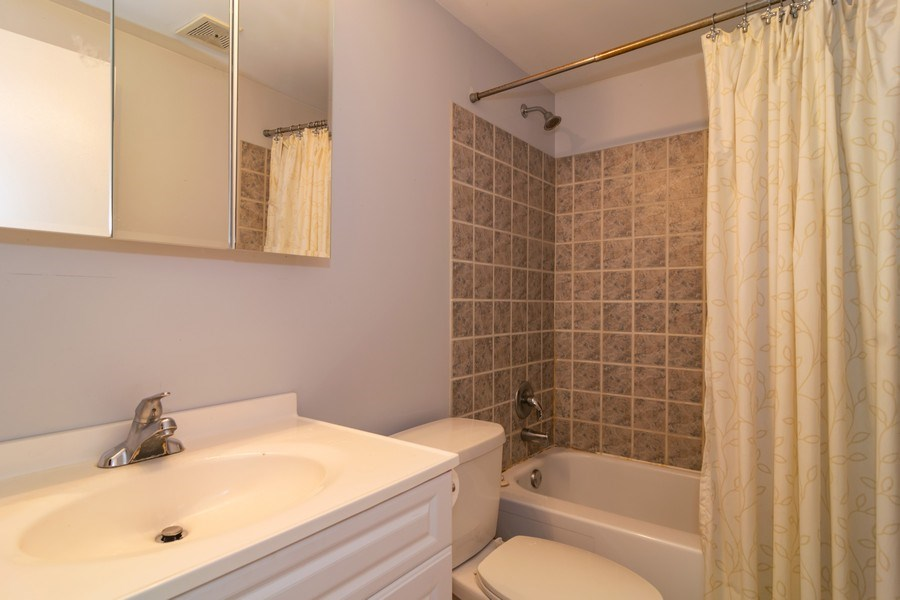 Real Estate Photography - 5851 CHATSWORTH Court, Hanover Park, IL, 60133 - Bathroom