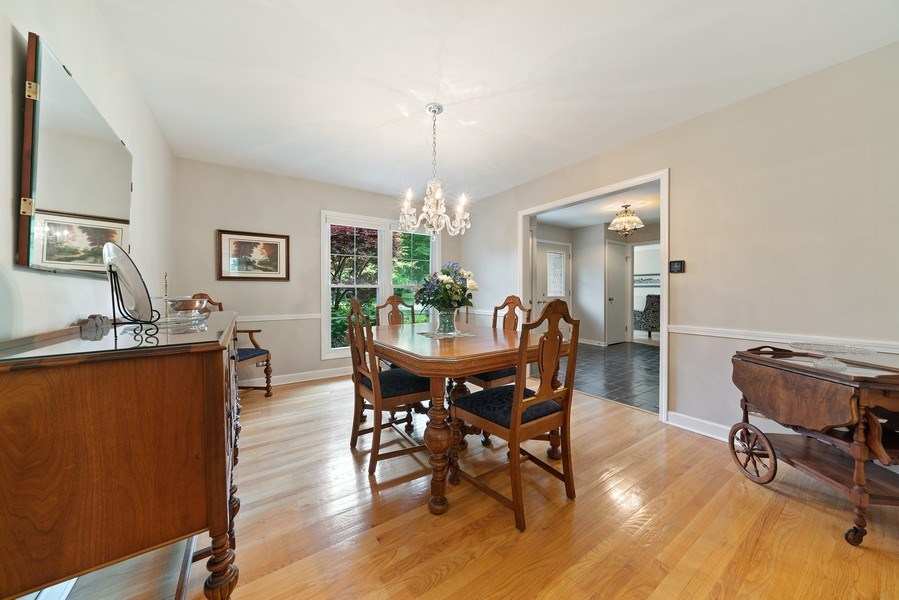 Real Estate Photography - 308 South Park Blvd, Glen Ellyn, IL, 60137 - Dining Room