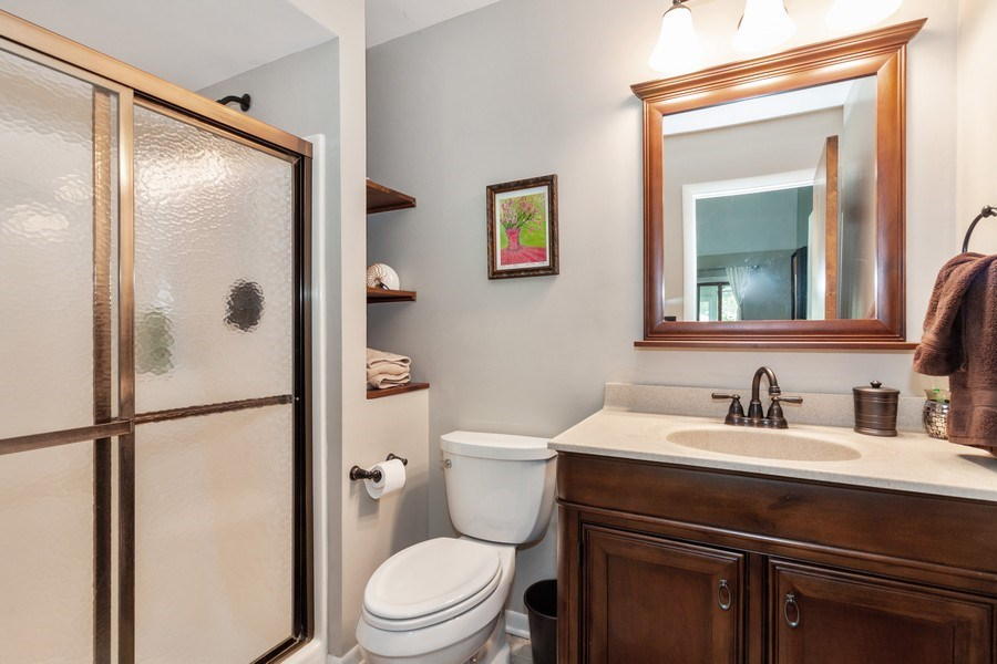 Real Estate Photography - 266 Woodstock Avenue, Clarendon Hills, IL, 60514 - Bathroom