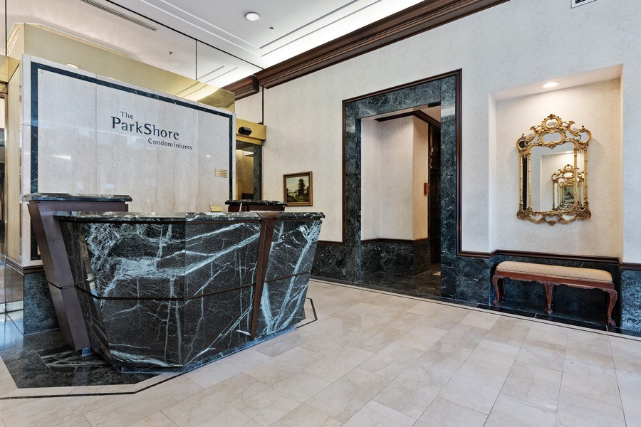 Real Estate Photography - 195 N. Harbor Drive, Unit 3601, Chicago, IL, 60601 - Lobby