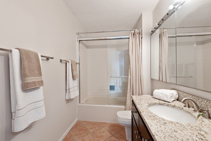 Real Estate Photography - 195 N. Harbor Drive, Unit 3601, Chicago, IL, 60601 - Master Bathroom