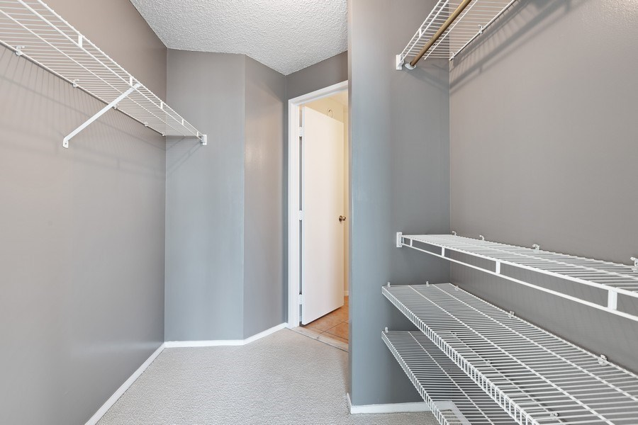 Real Estate Photography - 195 N. Harbor Drive, Unit 3601, Chicago, IL, 60601 - Master Bedroom Closet