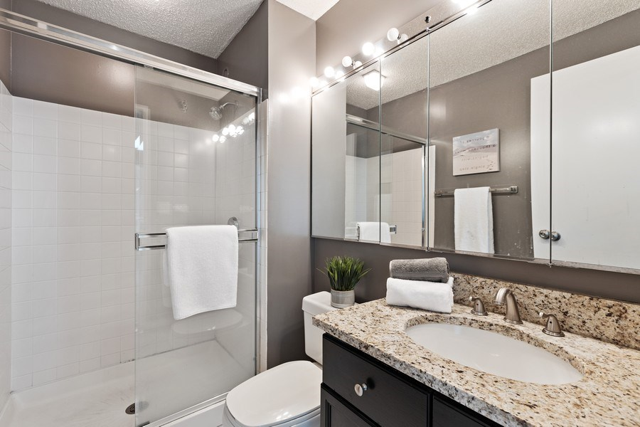 Real Estate Photography - 195 N. Harbor Drive, Unit 3601, Chicago, IL, 60601 - Bathroom