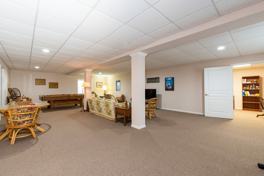 Real Estate Photography - 2544 Harvest Vly, Elgin, IL, 60124 - FINISHED BASEMENT WITH SEWING ROOM OR CLOSET?