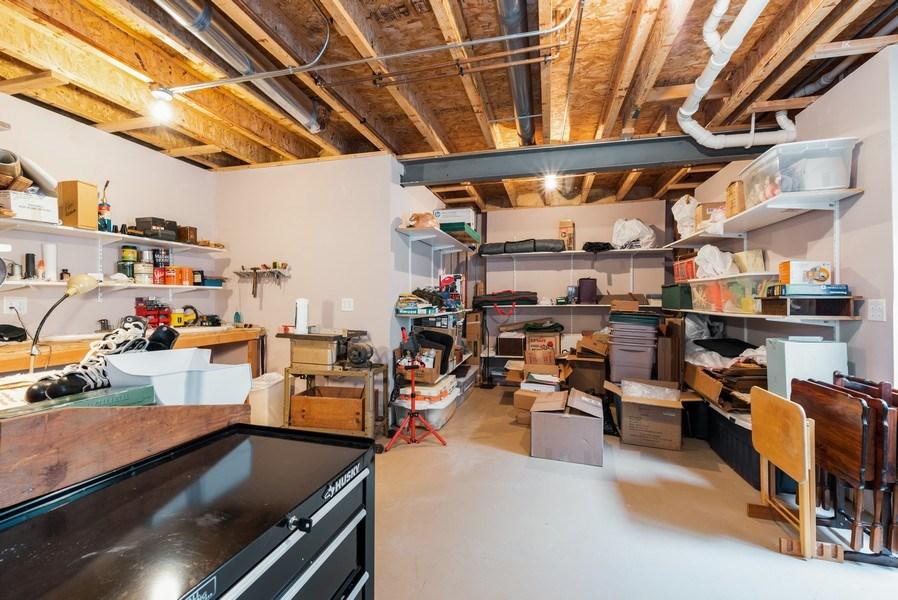Real Estate Photography - 2544 Harvest Vly, Elgin, IL, 60124 - LARGE STORAGE ROOM AND WORKSHOP
